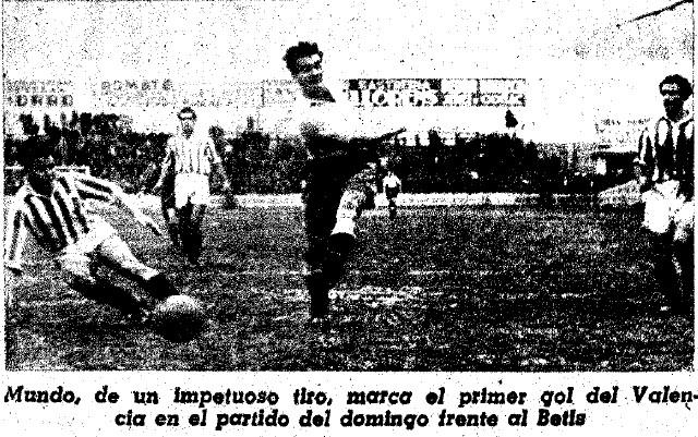 28.02.1943: Valencia CF 8 - 3 Real Betis