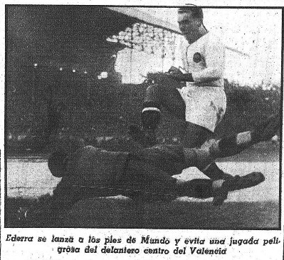 07.11.1943: Valencia CF 2 - 2 At. Madrid