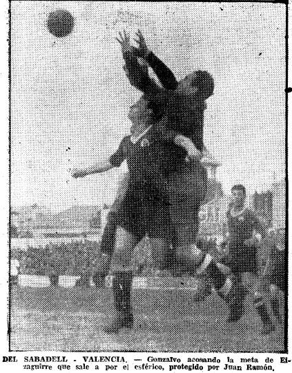 12.12.1943: CE Sabadell 2 - 4 Valencia CF