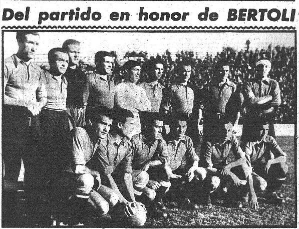 06.01.1944: Valencia CF 2 - 2 Selección LFP