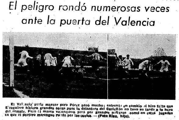 17.12.1944: CD Castellón 0 - 0 Valencia CF