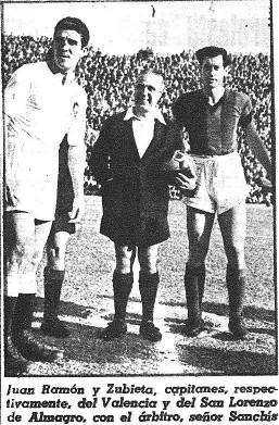 22.01.1947: Valencia CF 1 - 1 S.L. Almagro