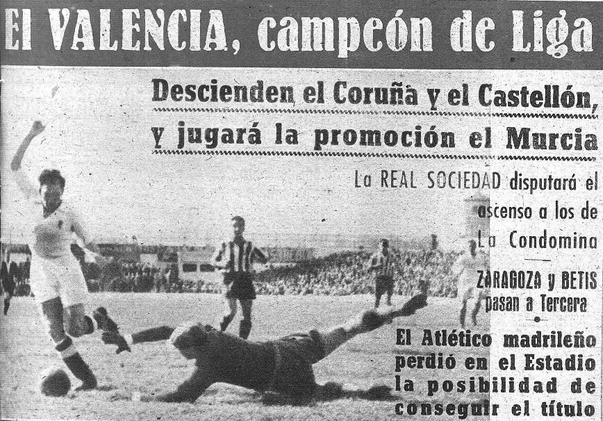 13.04.1947: Valencia CF 6 - 0 Sporting Gijón