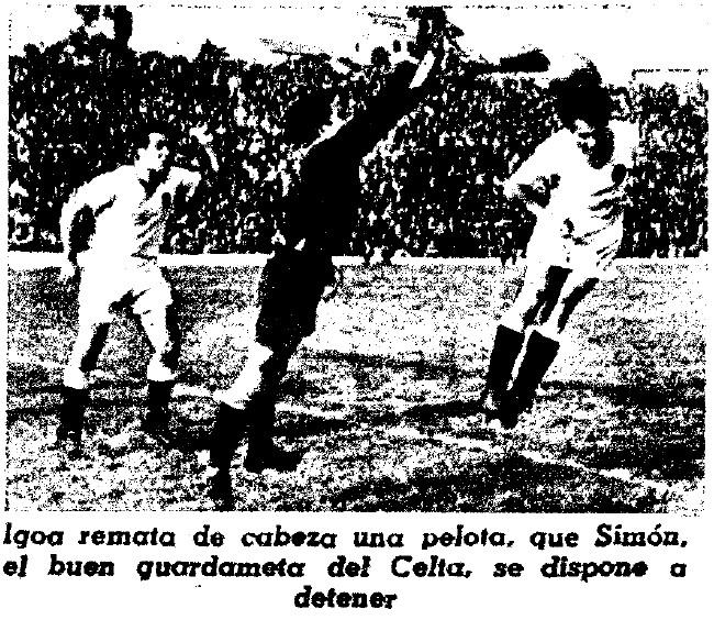 14.05.1947: Celta de Vigo 1 - 0 Valencia CF