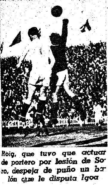 07.03.1948: Valencia CF 3 - 1 Gim. Tarragona