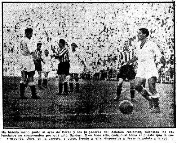 04.12.1949: Valencia CF 6 - 0 At. Madrid