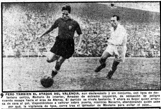 05.02.1950: Real Madrid 2 - 2 Valencia CF