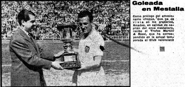 18.05.1950: Valencia CF 6 - 0 Rac. Santander