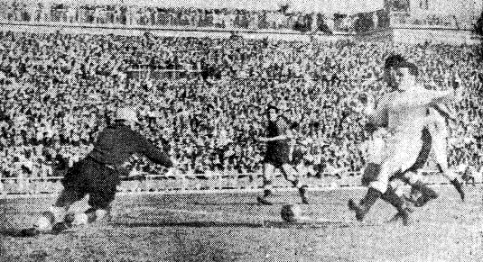 01.10.1950: Real Madrid 3 - 2 Valencia CF