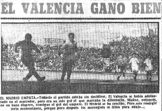 21.01.1951: Valencia CF 2 - 1 Real Madrid