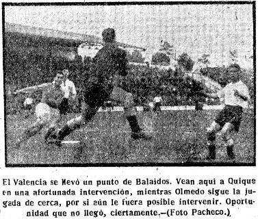 10.02.1952: Celta de Vigo 1 - 1 Valencia CF