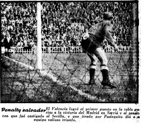 01.02.1953: Valencia CF 1 - 0 Sevilla FC