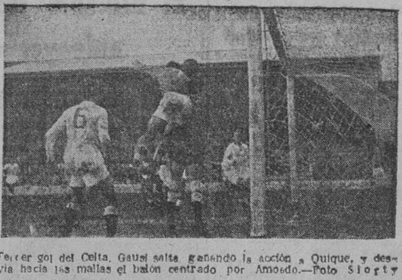 06.12.1953: Celta de Vigo 3 - 4 Valencia CF
