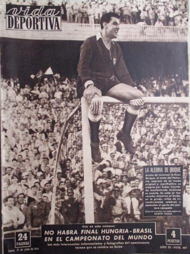 20.06.1954: FC Barcelona 0 - 3 Valencia CF