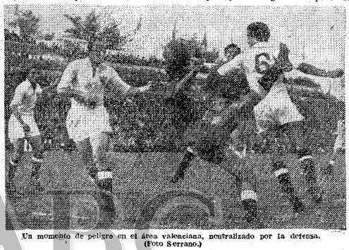 21.11.1954: Sevilla FC 2 - 1 Valencia CF