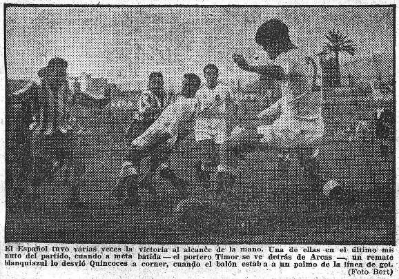 05.12.1954: RCD Espanyol 1 - 1 Valencia CF