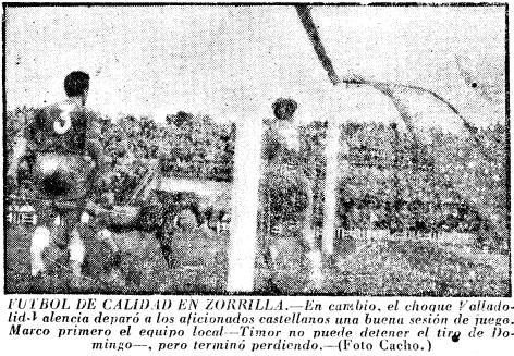 13.02.1955: Real Valladolid 2 - 3 Valencia CF