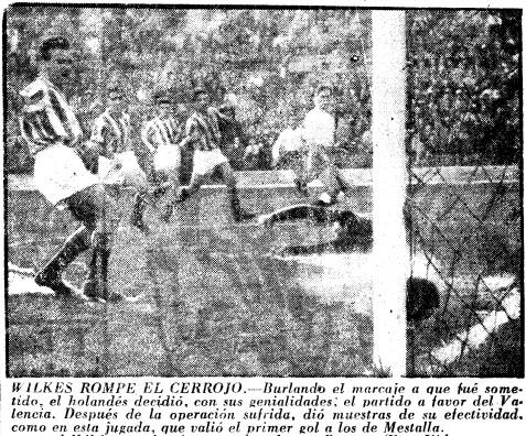 20.02.1955: Valencia CF 2 - 0 Real Sociedad