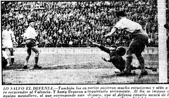 17.04.1955: Valencia CF 5 - 2 UD Las Palmas