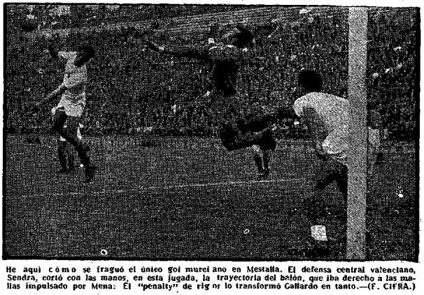 30.10.1955: Valencia CF 4 - 1 Real Murcia