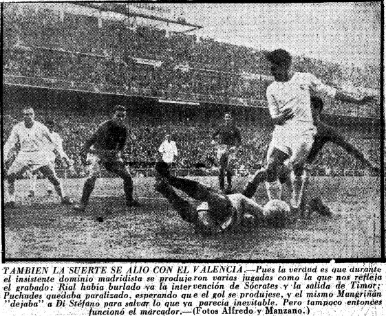 08.01.1956: Real Madrid 1 - 0 Valencia CF