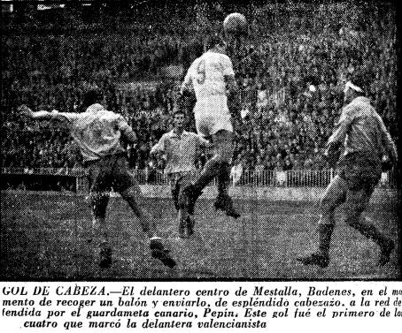 15.01.1956: Valencia CF 4 - 2 UD Las Palmas