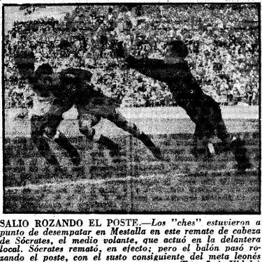 12.02.1956: Valencia CF 1 - 1 Cult. Leonesa