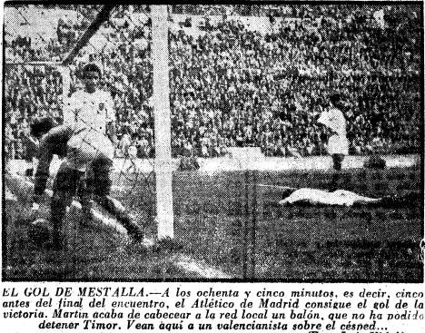 26.02.1956: Valencia CF 0 - 1 At. Madrid