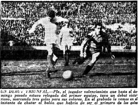08.04.1956: Valencia CF 5 - 1 Real Valladolid
