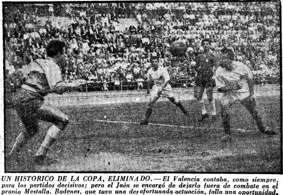 13.05.1956: Valencia CF 1 - 1 Real Jaén