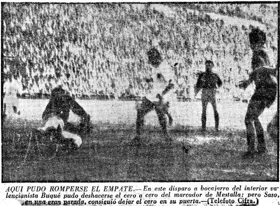 20.01.1957: Valencia CF 0 - 0 Real Valladolid