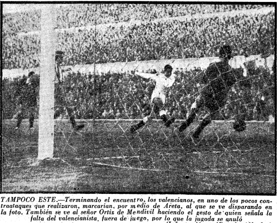 27.01.1957: At. Madrid 1 - 0 Valencia CF