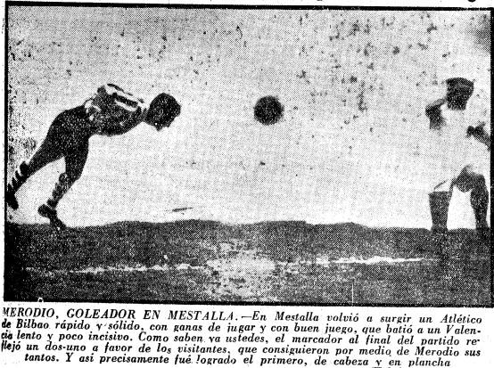 17.02.1957: Valencia CF 1 - 2 Athletic Club