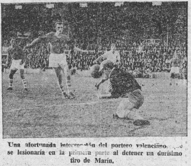 17.11.1957: Celta de Vigo 3 - 2 Valencia CF