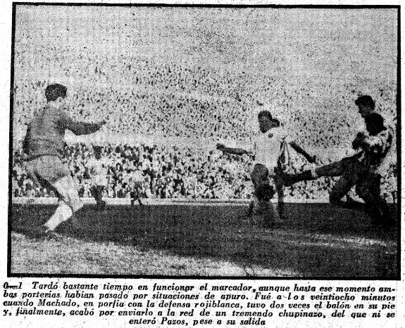 01.12.1957: At. Madrid 2 - 2 Valencia CF
