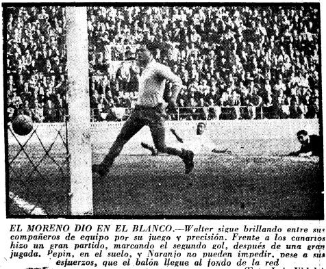 05.01.1958: Valencia CF 4 - 1 UD Las Palmas
