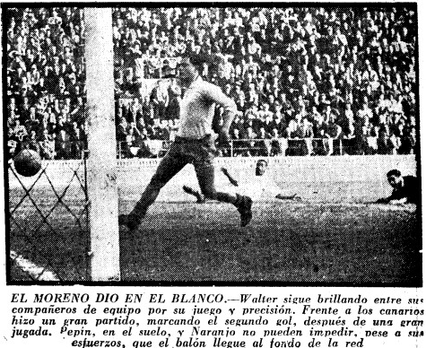 06.01.1958: Valencia CF 0 - 2 Austria Viena