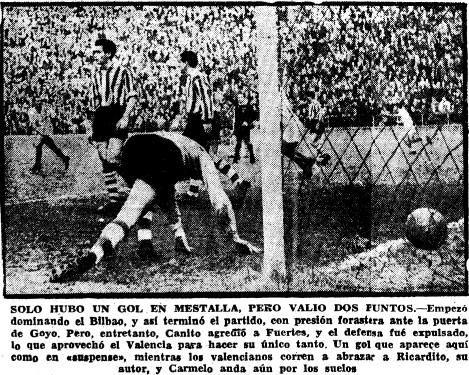 16.02.1958: Valencia CF 1 - 0 Athletic Club