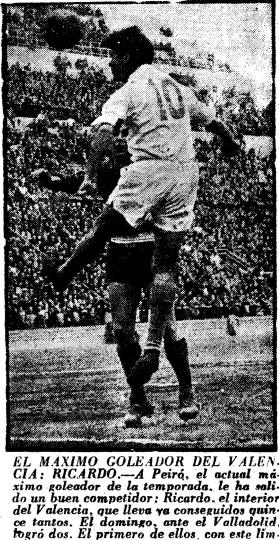 02.03.1958: Valencia CF 3 - 0 Real Valladolid