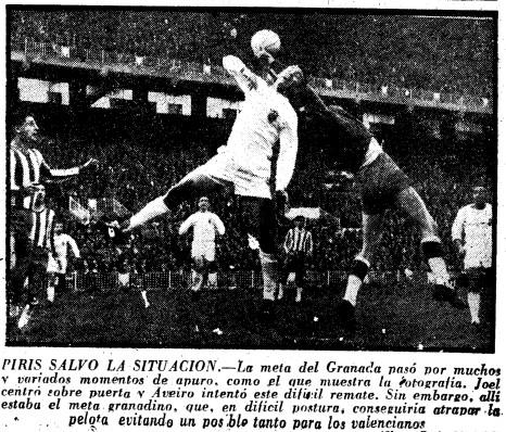 27.12.1959: Valencia CF 2 - 0 Granada CF