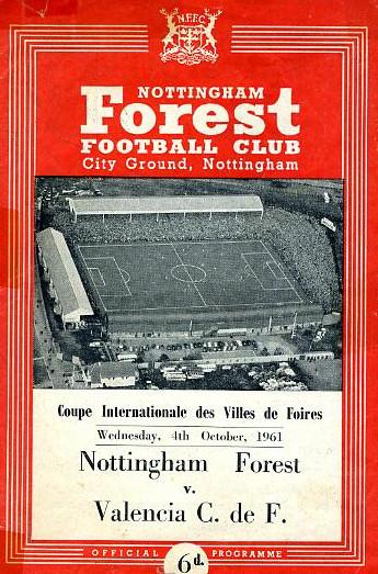 04.10.1961: Nottingham F. 1 - 5 Valencia CF