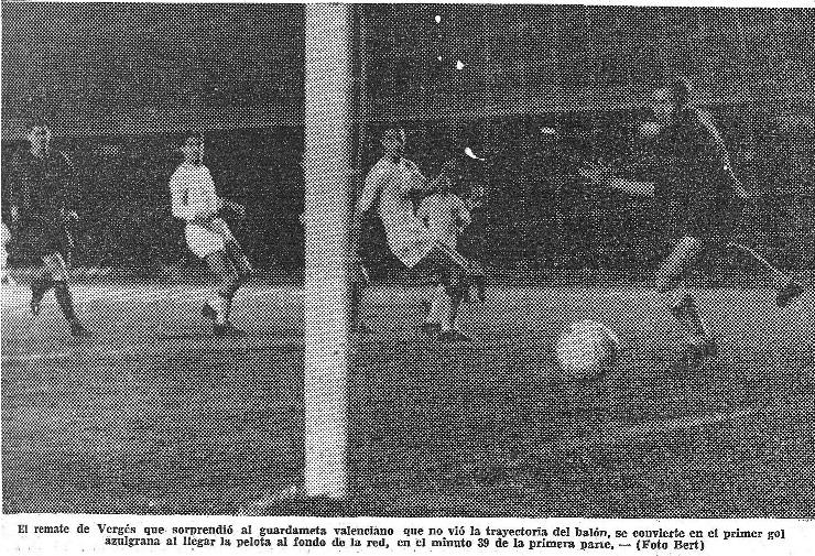 17.03.1962: FC Barcelona 4 - 0 Valencia CF