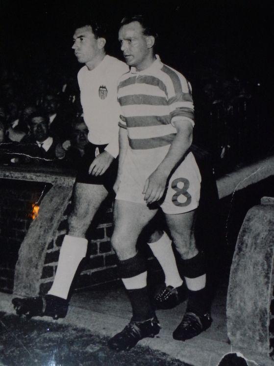 24.10.1962: Celtic Glasgow 2 - 2 Valencia CF
