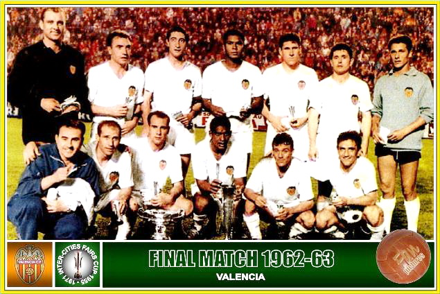 26.06.1963: Valencia CF 2 - 0 Dinamo Zagreb