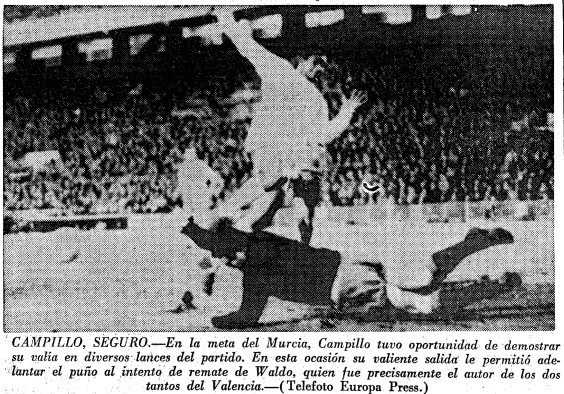 03.01.1965: Valencia CF 2 - 2 Real Murcia
