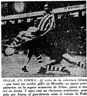 17.01.1965: Valencia CF 2 - 0 Athletic Club
