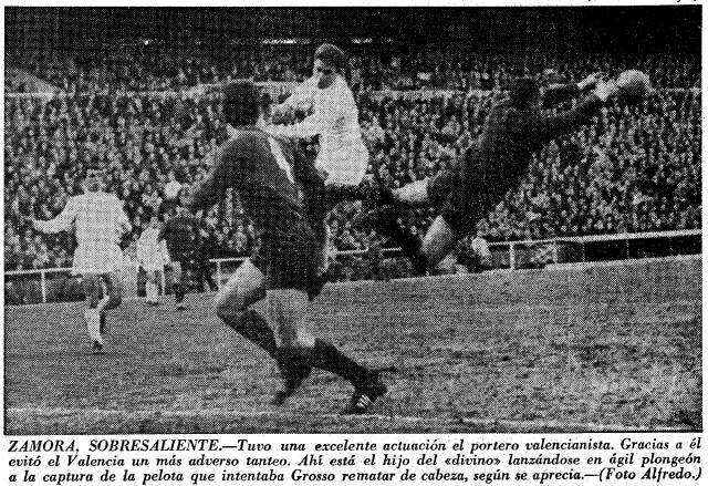 07.02.1965: Real Madrid 3 - 0 Valencia CF