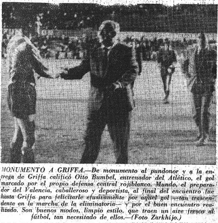 12.06.1965: At. Madrid 2 - 0 Valencia CF