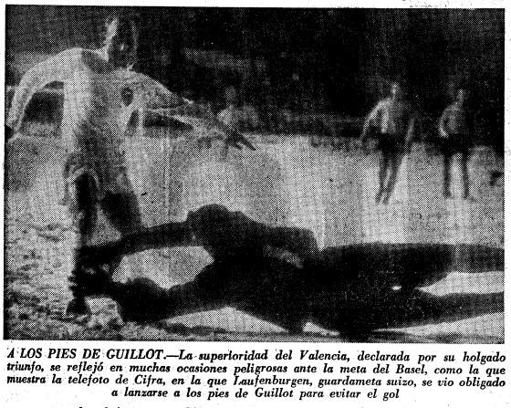 24.11.1965: FC Basel 1 - 3 Valencia CF