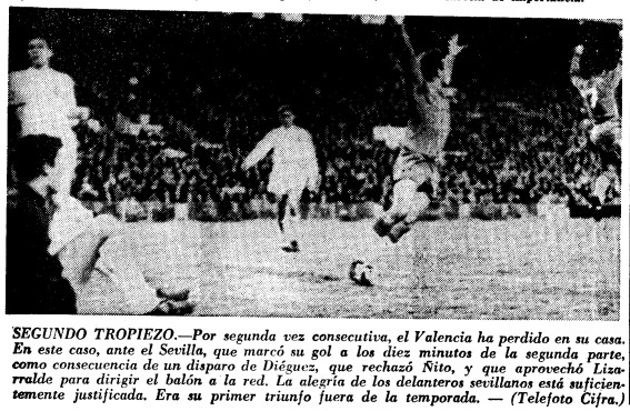 02.01.1966: Valencia CF 0 - 1 Sevilla FC